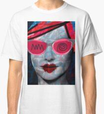 Cardboard Pink Girl Classic T-Shirt