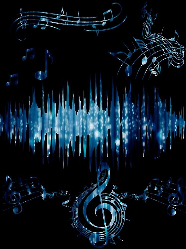Music Waves by Taliba