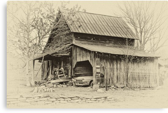 Old Barn by Jane Best
