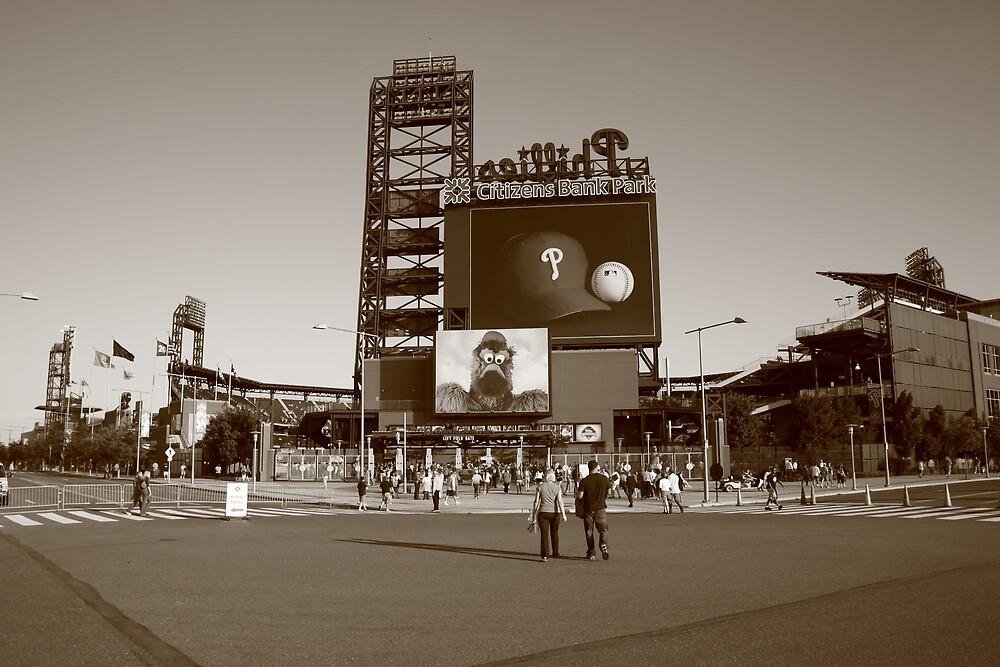 Citizens Bank Park - Philadelphia Phillies by Frank Romeo