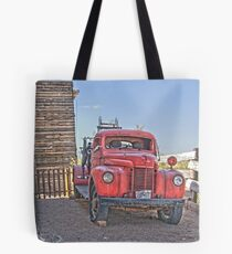 Goldfield Fire truck HDR Tote Bag