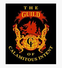The Guild of Calamitous Intent - The Venture Brothers Photographic Print