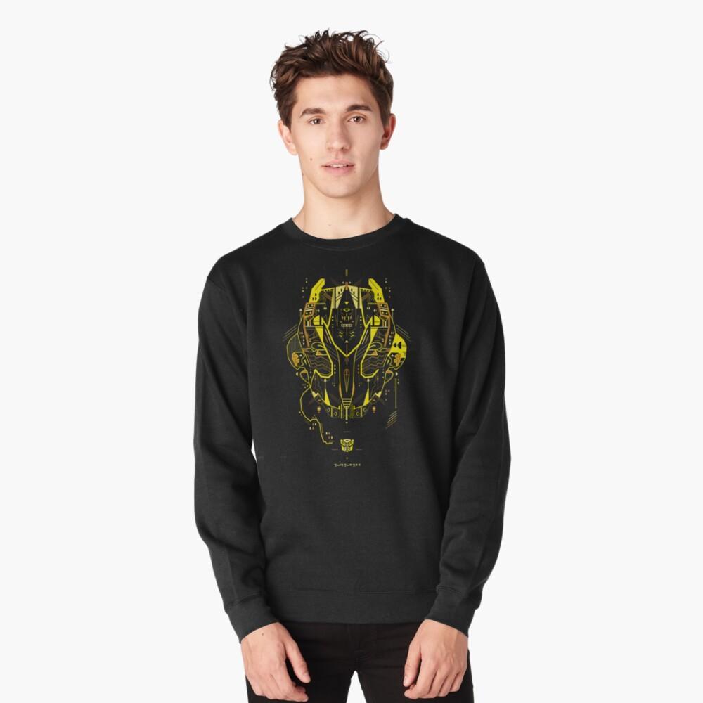 Bumblebee Pullover Sweatshirt
