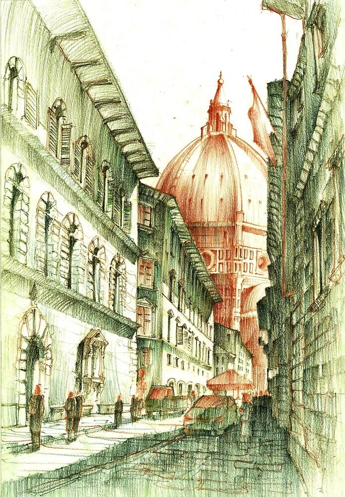 Santa Maria Del Fiore by KrystianWozniak