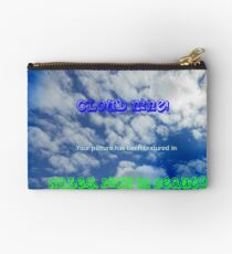 Wales Feature Banner Studio Pouch