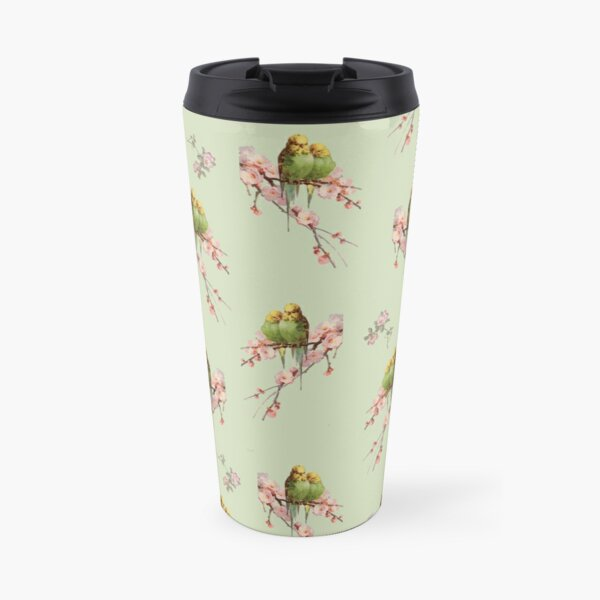 Budgie Galore Pistachio Travel Mug