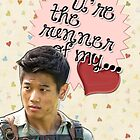 The Maze Runner Greeting Cards [Minho] by thescudders