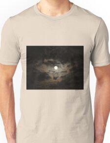 Moon & Clouds Unisex T-Shirt