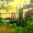 Combine harvester. by Livvy Young