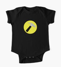 Captain Hammer Baby Body Kurzarm