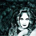 portrait Black Rose by annacuypers