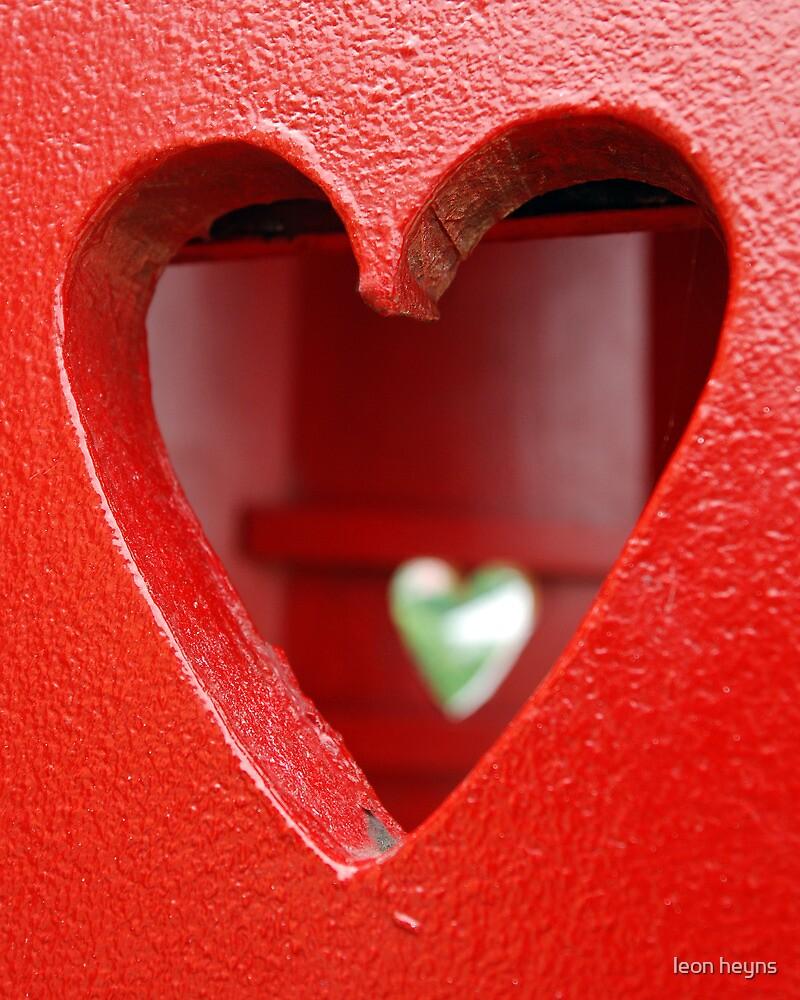 Look inside a heart by Leon Heyns