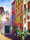 Street scene in Rome by bettymmwong