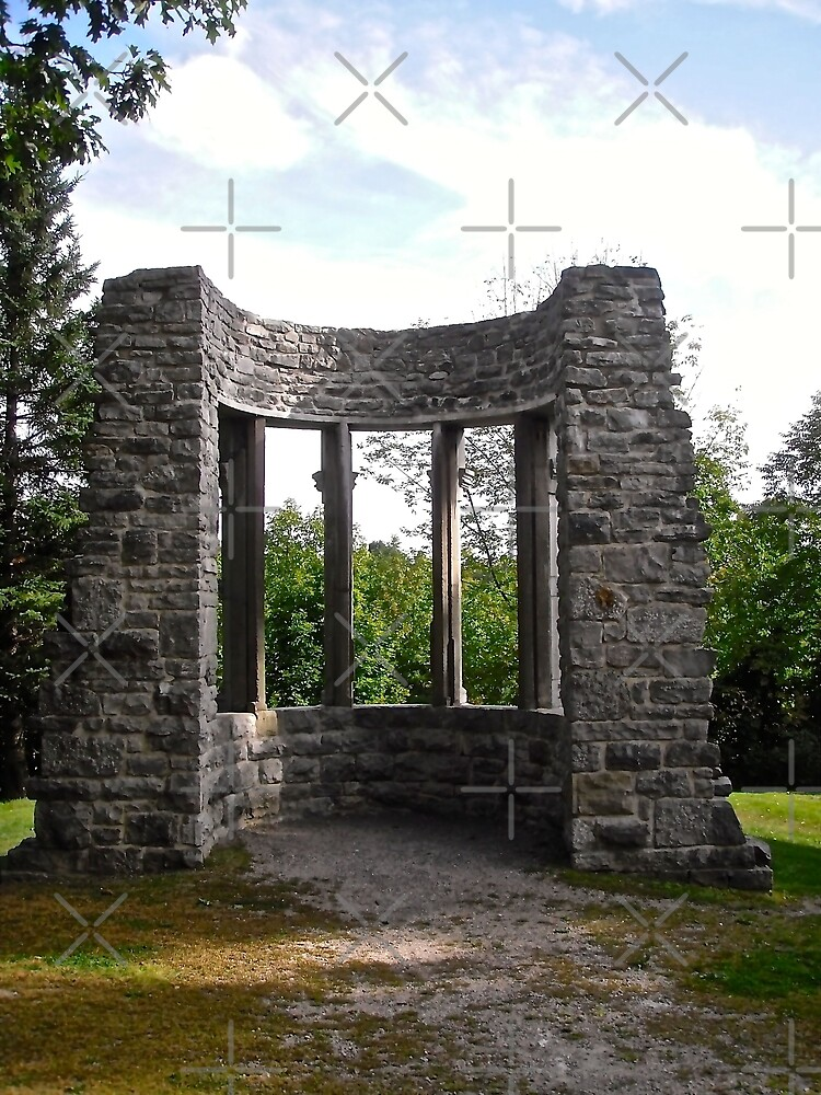 """More """"Abbey Ruins"""" at Kingsmere, Chelsea, PQ, Canada by Shulie1"""