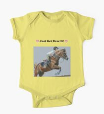 Just Get Over It! - Horse T-Shirt Kids Clothes