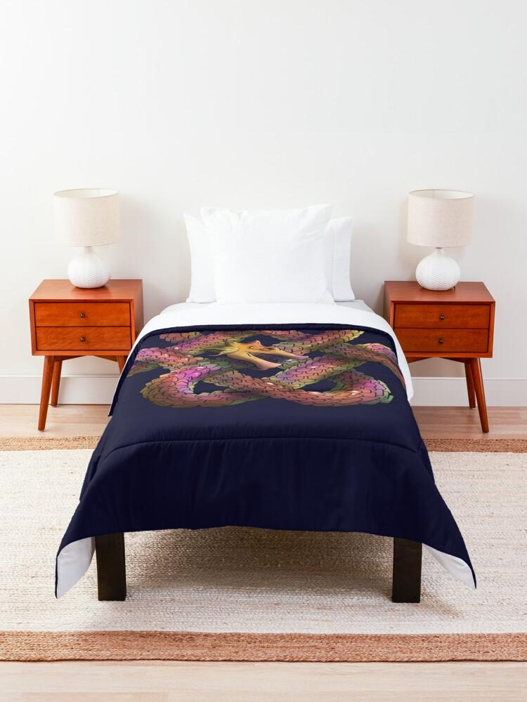 Alternate view of Jörmungandr Comforter