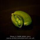 Peas by Susan A Wilson