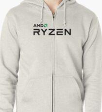 Best Seller - Amd Ryzen Logo Merchandise Zipped Hoodie