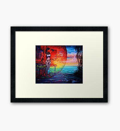 """Sojie 13 wip # 4 'Future Seed"""" Framed Print"""