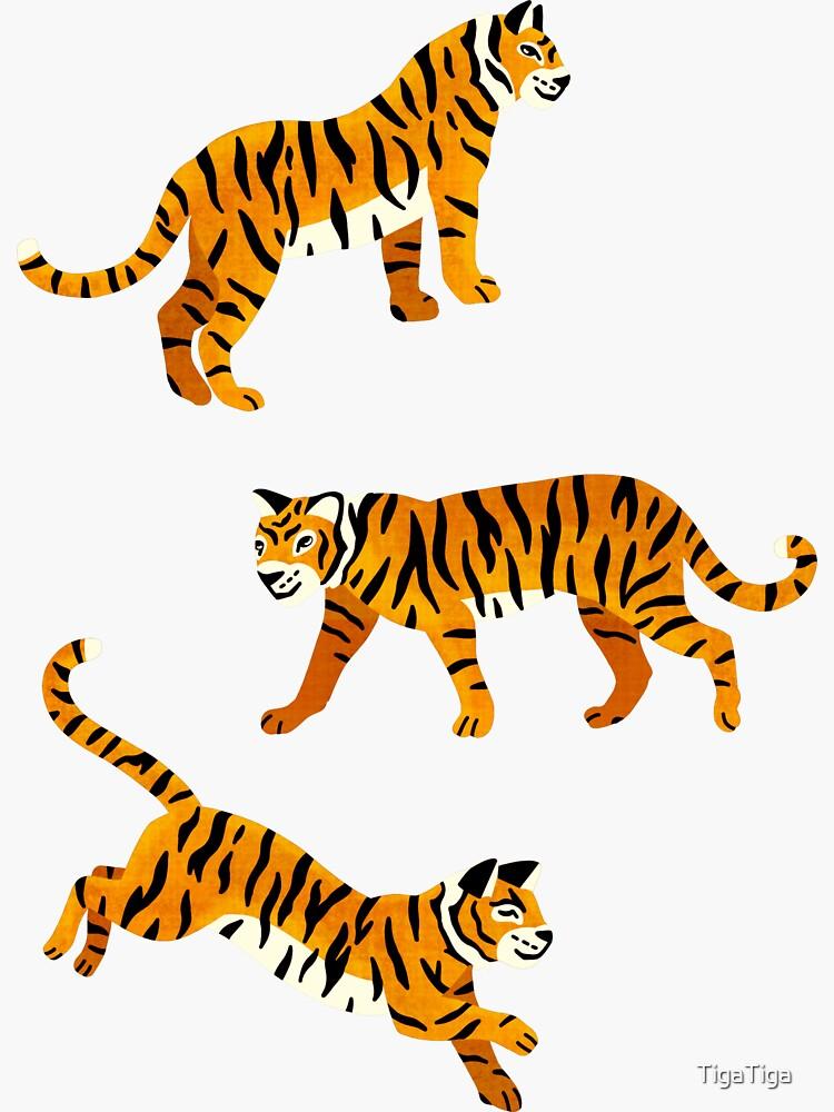 Bengal Tigers - Navy  by TigaTiga
