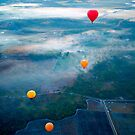 Up Up and Away - hot air ballooning  by Jenny Dean