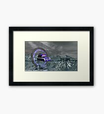 Appolonia Stargate Police Framed Print