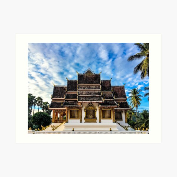 Royal Buddhist Temple Art Print