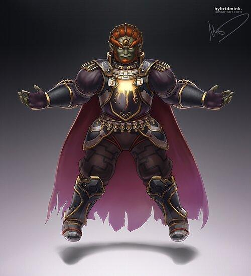 Ganondorf by hybridmink