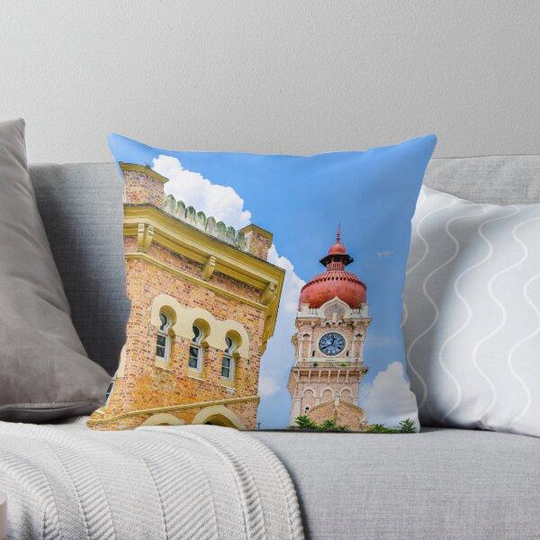 Colonial Clocktower Throw Pillow