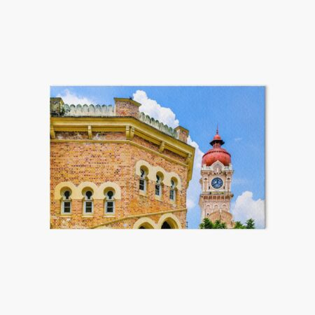 Colonial Clocktower Art Board Print