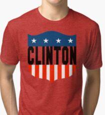 clinton : stars and stripes Tri-blend T-Shirt
