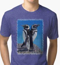 Cute Penguins T-Shirt Tri-blend T-Shirt