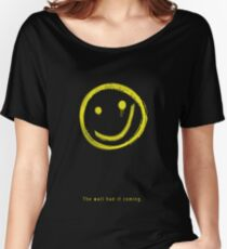 The Wall Had It Coming Women's Relaxed Fit T-Shirt