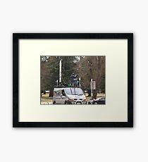 Canberra Protests Convoy #1 Framed Print