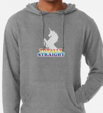 Totally Straight Lightweight Hoodie