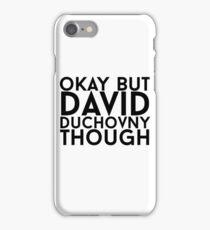 David Duchovny iPhone Case/Skin