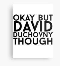 David Duchovny Metal Print