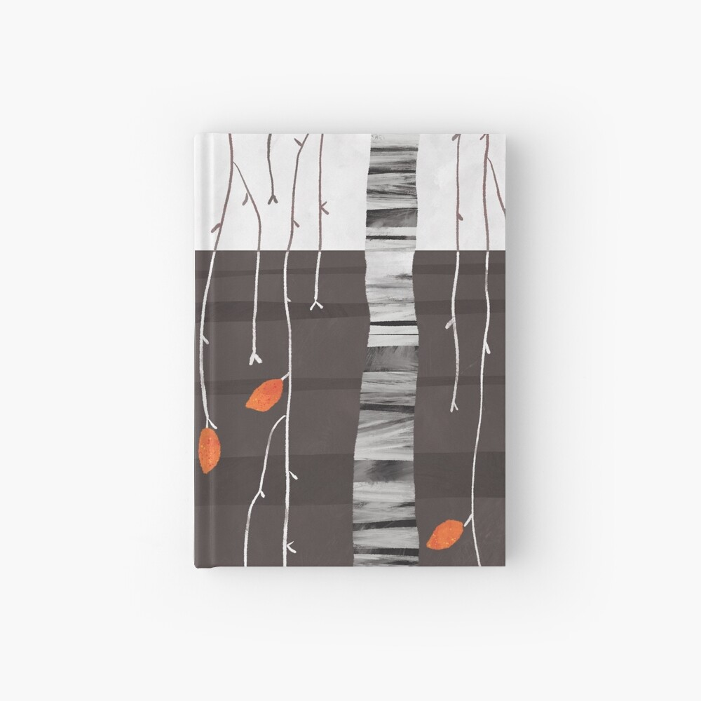 The last of the leaves Hardcover Journal