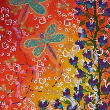 Dancing Dragonflies by YasminChambers