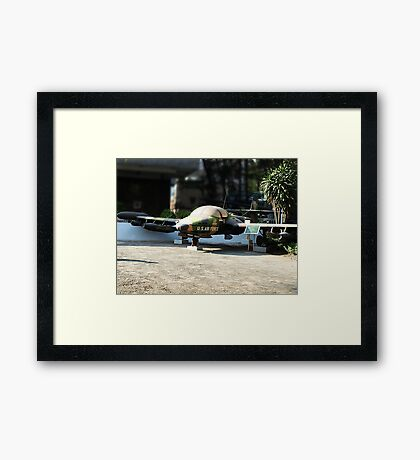 Cessna A-37 Dragonfly (Super Tweet) - Saigon War Museum Framed Print