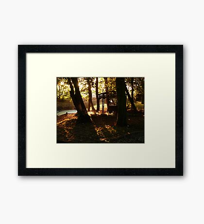 The Hideaway Glade Framed Print