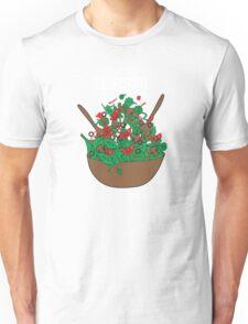 tosser. (salad)  <white text> Unisex T-Shirt