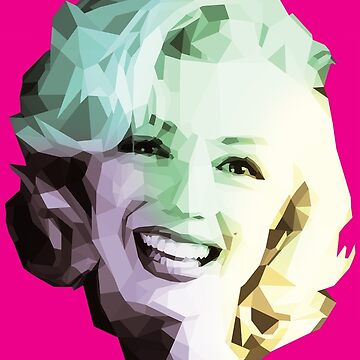 Marilyn by perfectpolygons