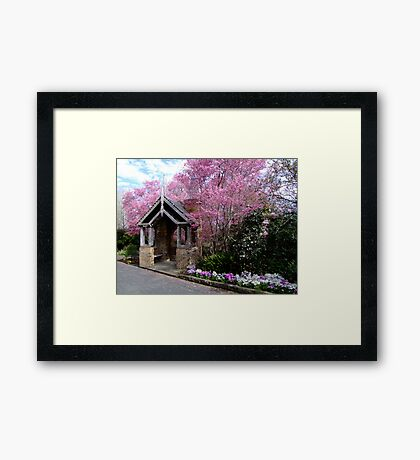 A Little Touch of Paradise Framed Print