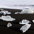 Jokulsarlon Beach, Iceland by Terry Dwyer