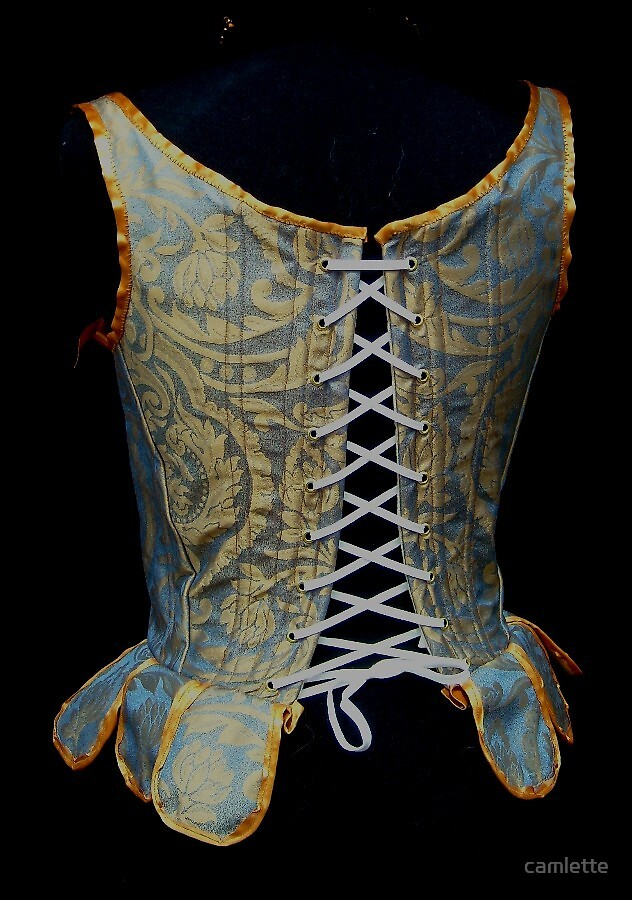 My First 16th Century Corset Back by Cameron Hampton