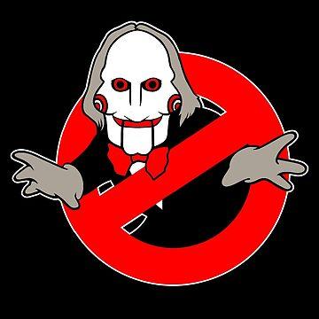 Ghostbusters (Jigsaw) by southfellini