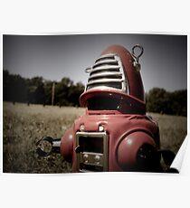 Retro Toy Robby Robot 06 Poster