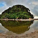 Whiritoa Lagoon by Ken Wright