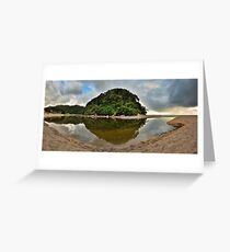 Whiritoa Lagoon Greeting Card